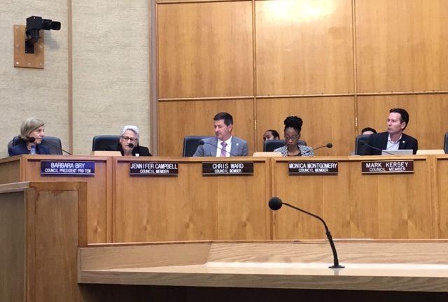 Neutral Corner President Leads City Hall Resolution