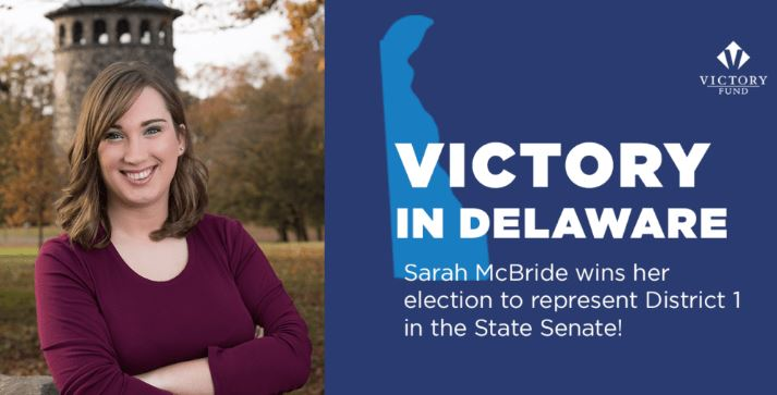 Sarah McBride: Delaware's New State Senator